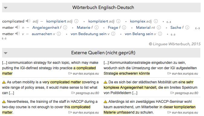 linguee deutsch englisch w rterbuch und weitere sprachen